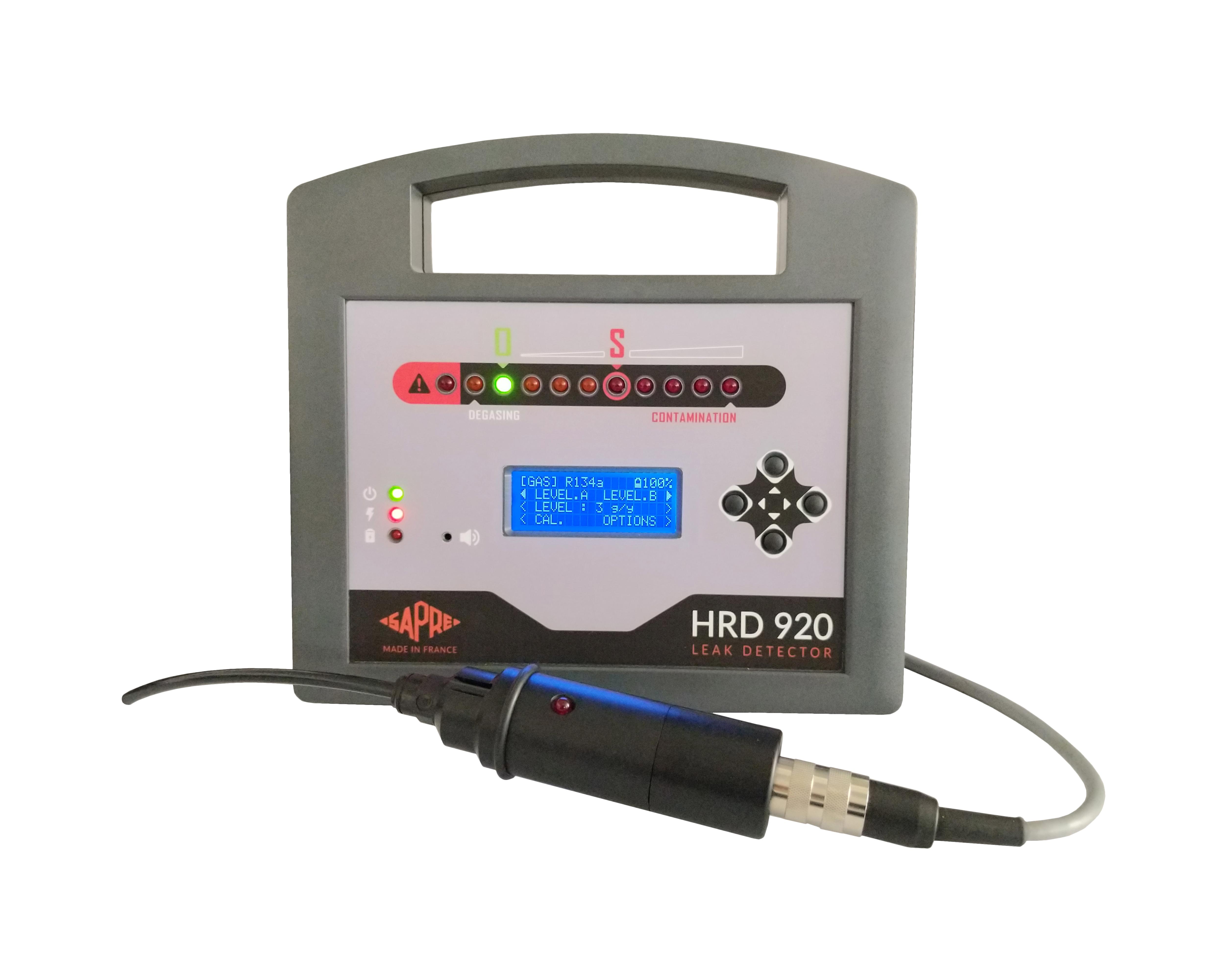 HRD 920 - Refrigerant-HFO-H2/N2-Gas detector